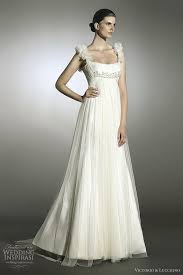 Greek Wedding Dresses Grecian Style Wedding Dresses Victorio And Lucchino The Wedding