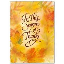 brown peanuts religious thanksgiving message card