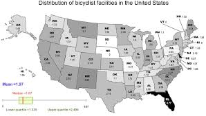 United States Map With State Names And Capitals by Bicyclist Deaths And Striking Vehicles In The Usa Injury Prevention