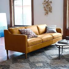 West Elm Henry Leather Sofa West Elm Leather Scroll To Previous Item West Elm Henry