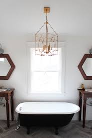 a brass lantern for the master bath thewhitebuffalostylingco com