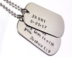 Personalized Dog Tags For Men Dog Tags For Men Etsy