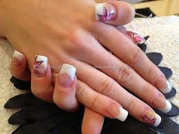 eye candy nails u0026 training after pink and white sculptured