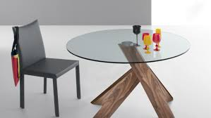 Glass Top Dining Tables Rectangular Cute Rectangular Glass Top Dining Table With Wood Base Tags
