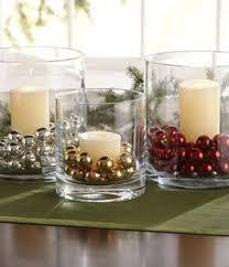 decor diy glass vases candles jingle bells