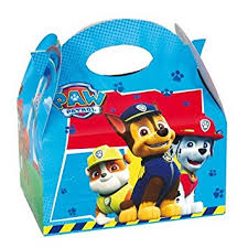Food Gift Boxes 12 X Paw Patrol Blue Kids Birthday Party Food Gift Boxes Amazon