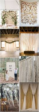 wedding backdrop ideas 2017 rustic weddings 30 unique and breathtaking wedding backdrop