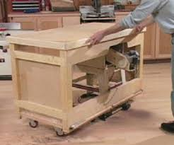 table saw station plans buy woodworking plans table saw station build by own