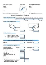 renaissance excel order form bathroom u0026 wet room supplies