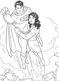 super hero superman coloring pages kids printable super