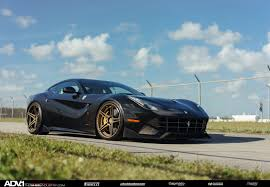Ferrari F12 Blue - black ferrari f12 berlinetta adv05 m v2 sl series wheels adv 1