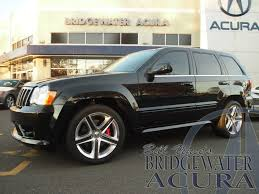 dark gray jeep grand cherokee pre owned 2008 jeep grand cherokee srt8 suv in bridgewater p8533s