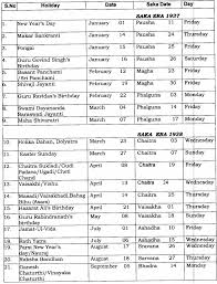 central government employees news holidays list in central