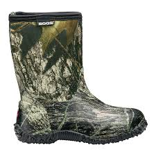 bogs s boots size 12 mossy oak mid insulated boots 51366