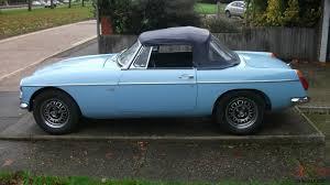 nissan roadster 1970 mgb v8 roadster 1970 iris blue convertible tax exempt