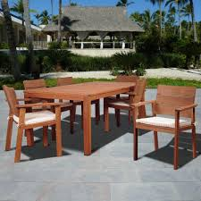 Hampton Bay Patio Dining Set - beige tan patio dining sets patio dining furniture the home