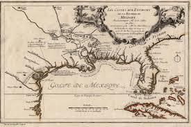 Louisiana Plantations Map by French