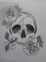 26 best skull and roses tattoo sketch images on pinterest tattoo