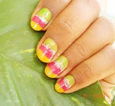 colorful nail art design for short nails everything about
