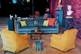 Funky Chairs For Living Room Funky Furniture And Accent Pieces Made The Space Feel Like A