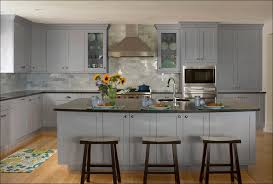 Gray Stained Kitchen Cabinets Kitchen Grey Stained Cabinets Gray And White Kitchen Blue
