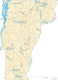 Vermont rivers images Map of vermont lakes streams and rivers gif