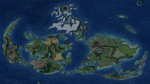 World Map Wallpaper by Final Fantasy 7 World Map Walldevil