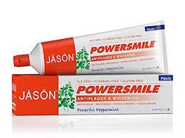 kosher toothpaste list jason powersmile travel size toothpaste peppermint