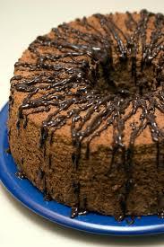 chocolate espresso angel food cake my achy bakey heart