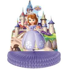 sofia the first table sofia the first party table centrepiece clicalia