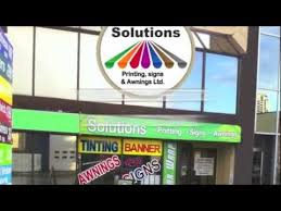 Signs And Awnings Signs Vancouver Solutions Printing Signs And Awnings Tel 604