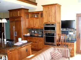Staggered Cabinets Kitchen Mission Style Kc Wood