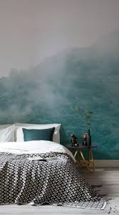 Fabric Wall Murals by Woodland Fabric Collection Forest Wallpaper For Bedroom Enchanted