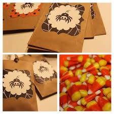 stamp camp halloween treat bags