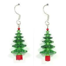 the swarovski tree earrings