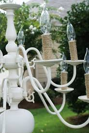Candle Sleeves For Chandelier Best 25 Brass Chandelier Makeover Ideas On Pinterest Painted