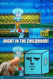 Right In The Childhood Meme - right in the childhood squidward meme graphic golfian com