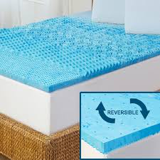 Memory Gel Mattress Topper Amazon Com Arctic Sleep By Pure Rest 5 Zone Marbleized Gel Memory