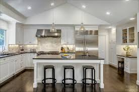 black and white kitchen in woodbridge ct the kitchen company