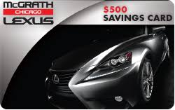 lexus card mcgrath lexus of chicago is a chicago lexus dealer and a car