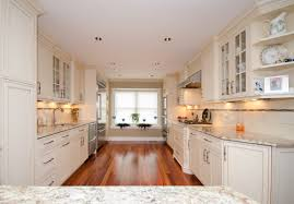 Galley Style Kitchen With Island Galley Kitchen With Peninsula Neptune Nj By Design Line Kitchens