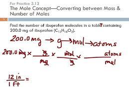 3 8 formula mass u0026 the mole concept for compounds youtube