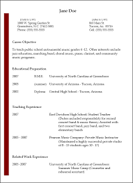 Sample Resume For College Teaching Position by Music Resume Jazz Music Teacher Resume 42 Teacher Resume Formats