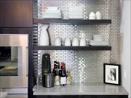 Tin Backsplashes For Kitchens Kitchen Faux Brick Fireplace Peel U0026 Stick Backsplash Peel And