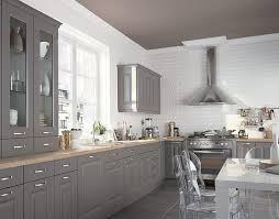 cuisine repeinte en gris cuisine repeinte gris argileo