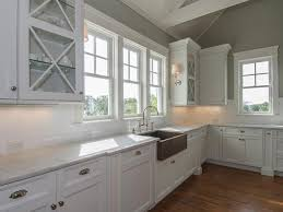 Stainless Steel Farm Sink Kitchen Decorative Ceiling With Wooden Storage Also Stainless
