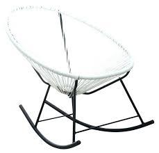 chaise bascule pas cher fauteuil e bascule pas cher rocking chaise a bascule blanc pas cher