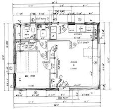 dimensioned floor plan construction drawings