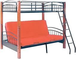 Futon Bunk Bed Wood Loft Bed With Futon Futon Bunk Bed Loft Bed With