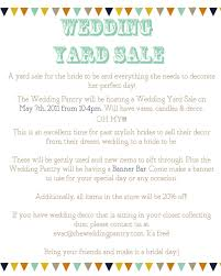 wedding items for sale wedding yard sale at the wedding pantry destination oc